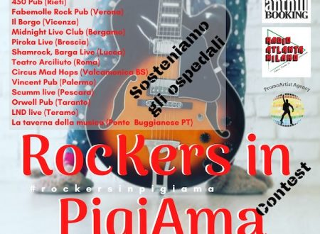 Rockers in pigiama contest