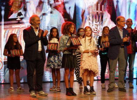 Le vincitrici della categoria Junior e Baby del Cantagiro 2020